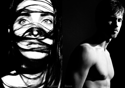 Wallflower Management models, Black and White portraits