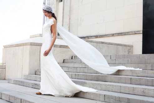 Wedding gowns shot in Dallas, Texas styled by Brittany Winter