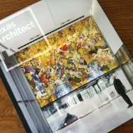 Clifford Ross on the cover of Texas Architect Magazine
