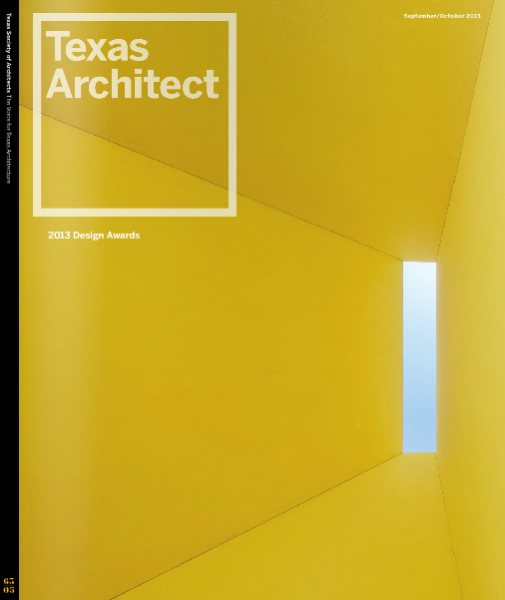 Texas Architect Cover